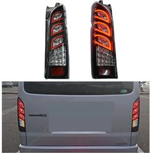 MODIFIED LED TAIL LAMP REAR LIGHTS DAY LIGHT TURN SIGNAL LIGHTING FIT FOR TOYOTA HIACE 200 SERIES REAR LIGHTTING 2005-2018(China)