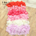 500pcs Barefoot White Lace Sandalls  Petalas De Rosa Para Casamentos Rose Petals Made Of Fabric Rose Petals Wedding Accessories