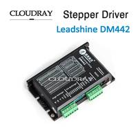 Cloudray Stepper Motor Driver 2 Leadshine Phase DC Motor Driver Controller For Nema 17 to Nema 23 Motor CNC Stepper System DM442