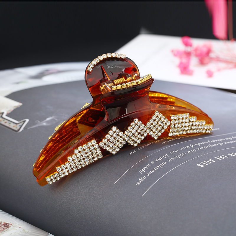 Rhinestone Acrylic Hair Calw Crystal Mix Color Hair Ornament Designed For Women hair Accessories