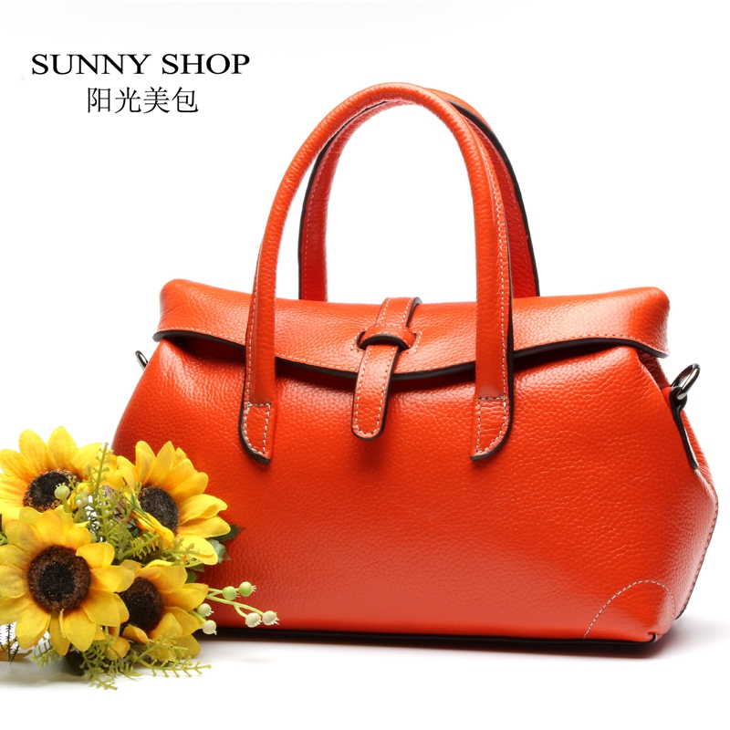 ФОТО SUNNY SHOP 2017 New LUXURY Genuine Leather Women Shoulder Bags Brand Designer Leather Women Bag  Lady Fashion  Gifts for Mother