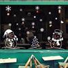 Christmas Glass Door Windows Stickers 78*110cm  2