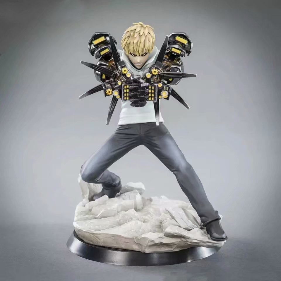 Tsume XTRA Series One-punch man Super Jenos PVC Movable Doll Collection Model 15cmTsume XTRA Series One-punch man Super Jenos PVC Movable Doll Collection Model 15cm