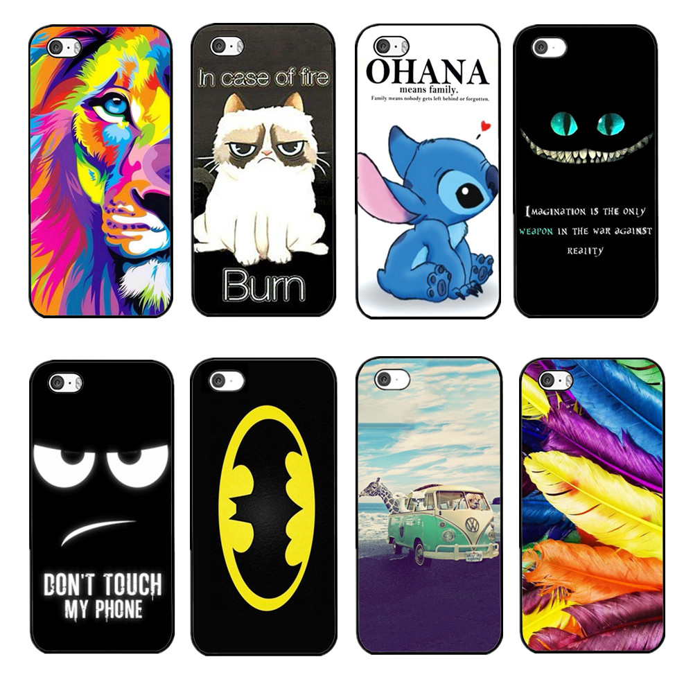 4S iPhone4 Case Cat Lion Toothless Phone Cases Covers Shell-in Phone ...