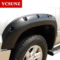 2009 2015 Pocket Rivet Fender Flare For Ford F150 2014 Accessories Black Color Mudguards For Ford F150 2013 Parts Ycsunz