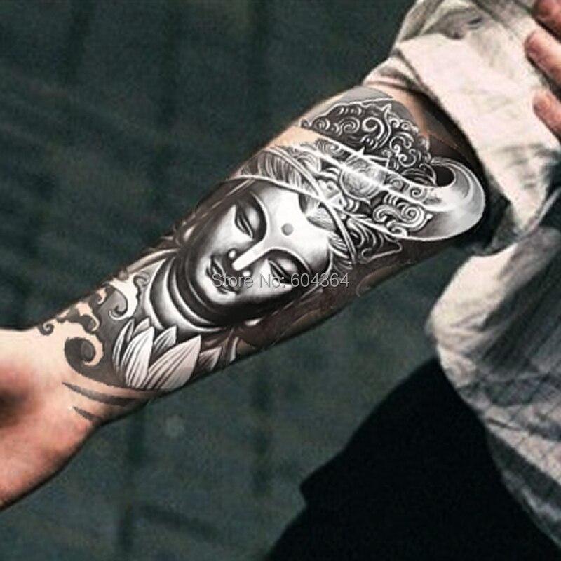 1pc/lot/AX27,Armband Temporary Tattoo/Mysterious Women Buddha/waterproof Big size fake tatoo