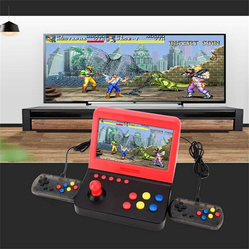 2018 16bit para sega jogo 156 gams em 1 mini máquina de arcade portátil clássico retro handheld vídeo game console jogos arcade - 3
