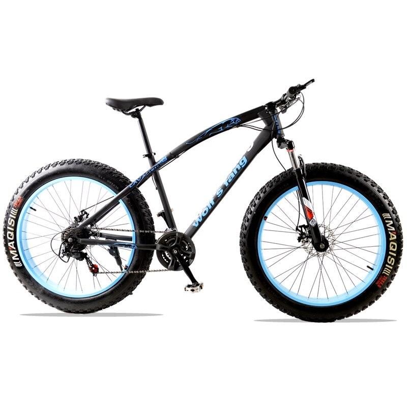 Горный велосипед 7/21 скорость дорожные велосипеды фэтбайк жира велосипед дорожный мотоцикл спереди и сзади механические дисковые тормоза у...