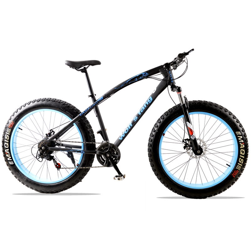 bicycle mountain bike 7/21speed road bicycles fat bike road bike Front and Rear Mechanical Disc Brake Unisex Spring Fork Bike bicycle mountain bike 7 21 speed 26x 4 0 fat bike road bike front and rear mechanical disc brake spring fork alloy wheels bike