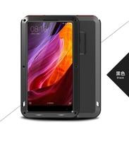 For Xiaomi Mi Mix Case Lovemei Shockproof Powerful Aluminum Gorilla Glass Metal Cover For Xiaomi Mi