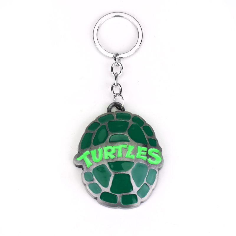 цена на Hot Sales Teenage Mutant Ninja Turtles Metal Keychains