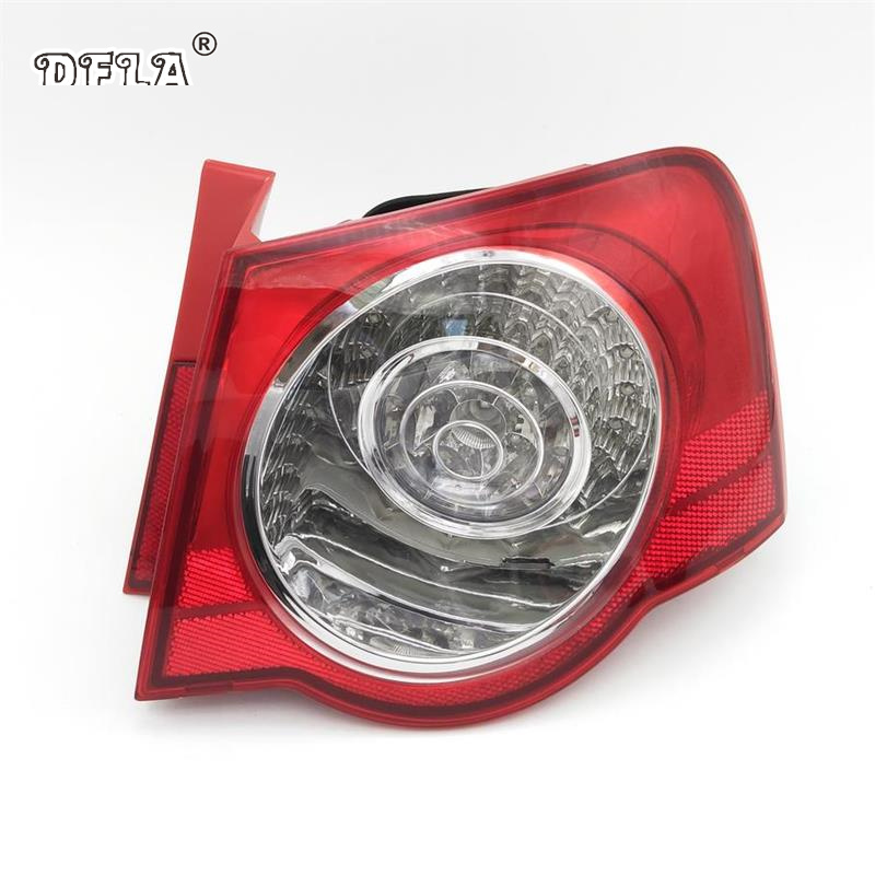 Car LED Light For VW Passat B6 Sendan 2006 2007 2008 2009 2010 2011 Car-Styling LED Rear Tail Light Lamp Right Side Outer rear fog lamp spare tire cover tail bumper light fit for mitsubishi pajero shogun v87 v93 v97 2007 2008 2009 2010 2011 2012 2015