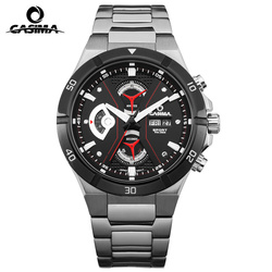 Top-selling Luxury Brand CASIMA Men Watches Reloj Hombre Casual Multi-Function Sport Men Quartz Watch Waterproof 100m montre