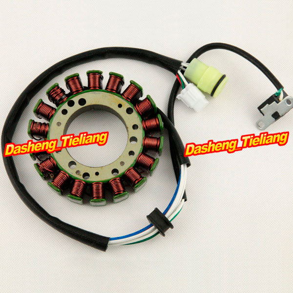Motorcycle Magneto Engine Stator Generator Charging Coil for Suzuki DRZ DR-Z 400 2001 2002 2003 2004 2005 2006-2012,  Aluminum