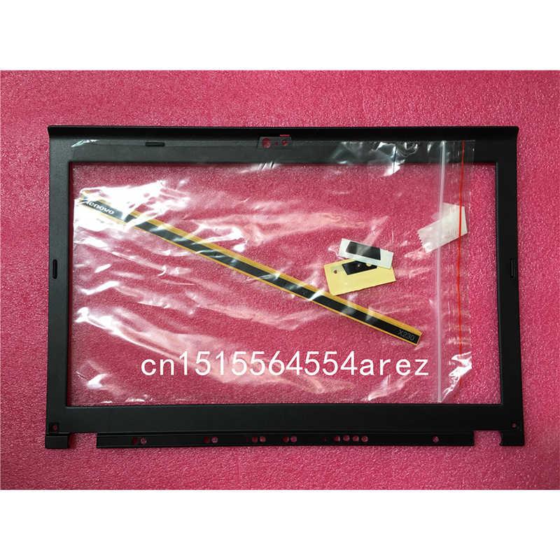 Новый и оригинальный ноутбук lenovo ThinkPad X220 X230 X220I X230I ЖК-дисплей ободок крышки/ЖК-дисплей рамка экрана 04W2186