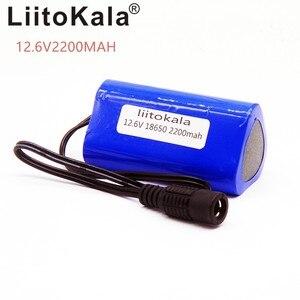 Image 2 - Hk liitokala 고품질 휴대용 12 v 2200 mah 18650 리튬 건전지 cctv 사진기 gps를위한 재충전 전지 팩 mid 2200 mah