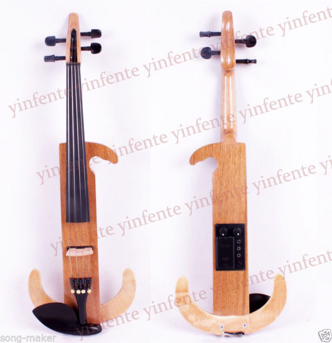 4/4 Electric Violin Powerful Sound High quality Solid wood Varnish 6 string electric violin new 4 4 flame guitar shape solid wood powerful sound6 611