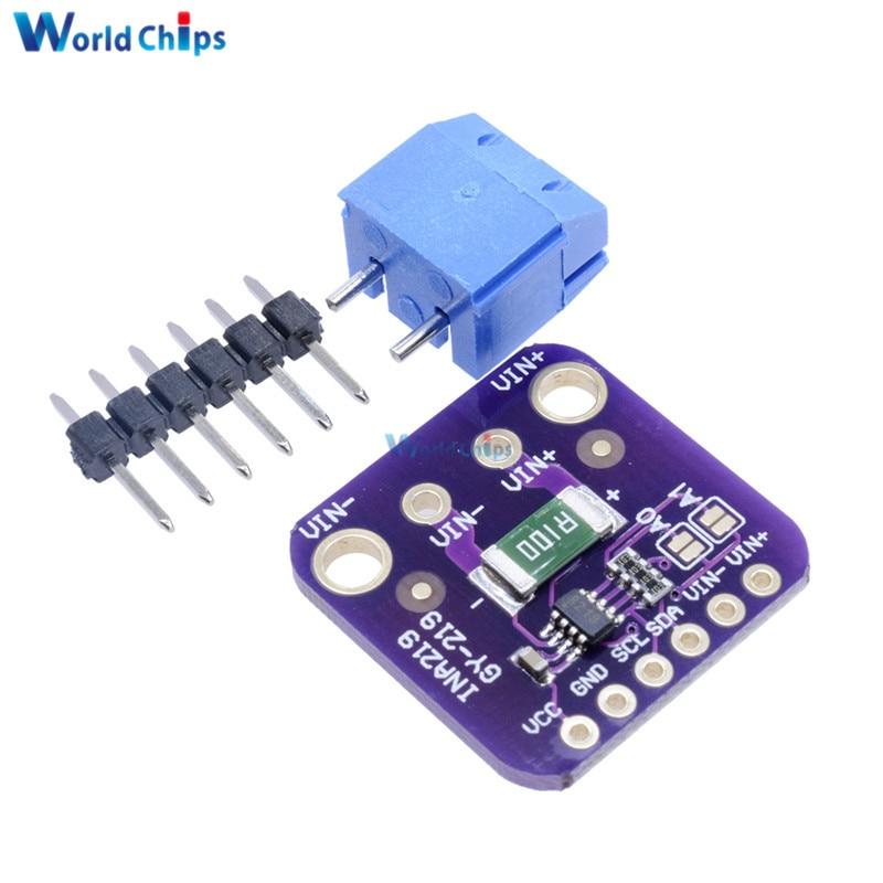 INA219 GY-219 GY219 Current Power Supply Sensor Breakout Board Module Sensor Module I2C Interface For Arduino DIY DC INA219B