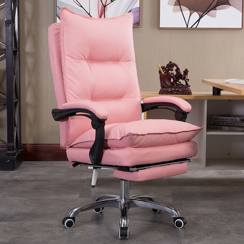 Special European Home Computer To Work In An Office Can Boss Genuine Leather Footrest Noon Break Lift Chair Fashion Class