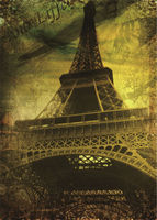 Eiffel Tower photo background vinyl 5x7ft or 3x5ft children backdrops stor photo props
