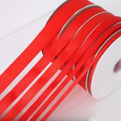 5 ярдов/рулон корсажные атласные ленты для свадьбы, украшения для рождественской вечеринки, самодельные ленты для поделок, открыток, подарочных упаковочных принадлежностей - Color: Red