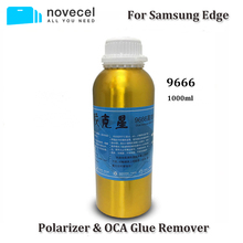 Novecel משלוח חינם 4 בקבוקי 1000ml 9666 OCA דבק Remover עבור S6 s7 קצה בתוספת s8 S9 S10 בתוספת הערה 8 9 10 Mobiile טלפון כלים