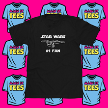 STAR WARS #1 FAN Shirt  NCC-1701 Starship Enterprise Funny Adult Youth Free shipping