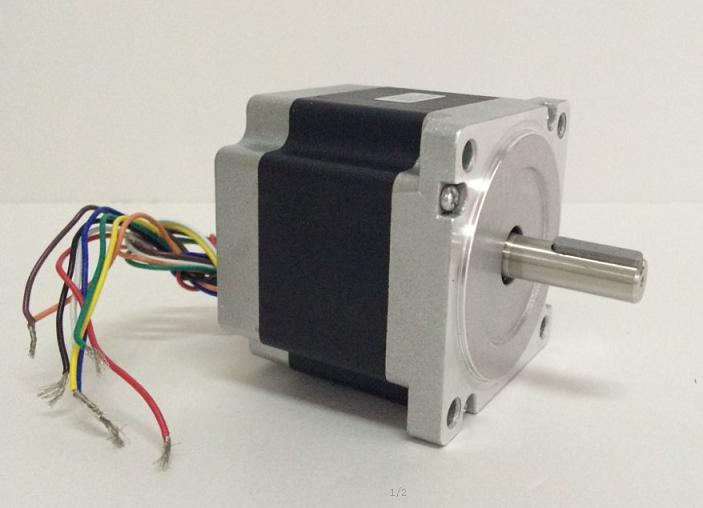ФОТО 3pcs 1.8 degree Nema 34 stepper motor 86HS78-4208 with 8 wires/4.2A/3.15V/4.6N.M CNC Mill Cut Engraver /3D printer