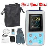 FDA рука амбулаторно кровяное Давление монитор 24 часов NIBP холтеровское ABPM50 + для взрослых, ребенок, большой, 3 манжеты, бесплатное программное