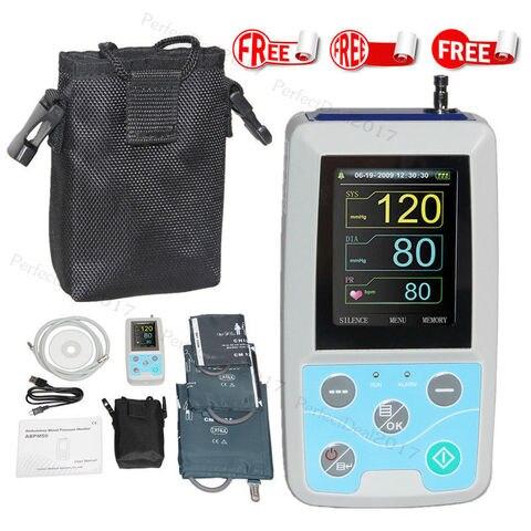 Monitor de press o arterial ambulat rio do bra o de fda 24 horas nibp