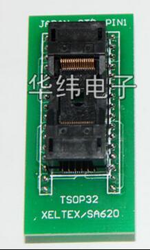 TSOP32 to DIP32 IC test block/adapter/test bench/Burn-in Socket