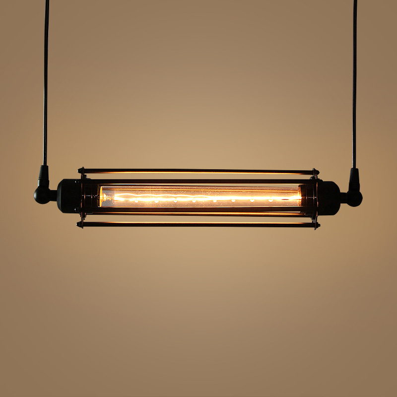 Vintage Retro Loft Industrial Black Iron Led E27 Pendant Light For Dining Room Bar Restaurant L 42cm 80-265v 1241 стоимость