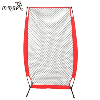 Balight Portable Baseball Softball Practice Net Softball Training Net with Durable Bow Frame Compact Carrying Bag Outdoor