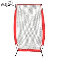 Balight Portable Baseball Softball Practice Net Softball Training Net with Durable Bow Frame Compact Carrying Bag Outdoor