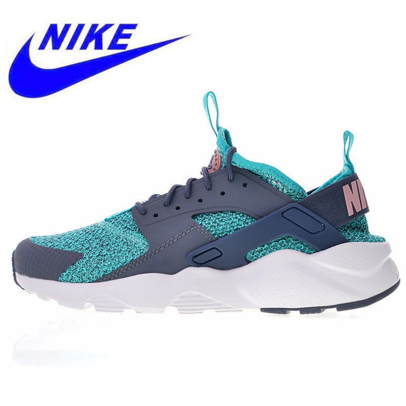 574998dd8302a New Nike Air Huarache Ultra Flyknit ID Men Running Shoes Outdoor Sports  Shoes Shock Absorption Breathable AH6758 300 AH6758 002-in Running Shoes  from Sports ...