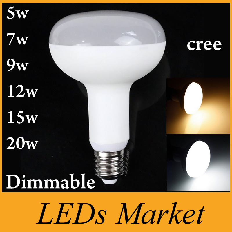 20w Led Dimmable: High Quality 5W 7W 9W 12W 15W 20W Led Spotlight E27