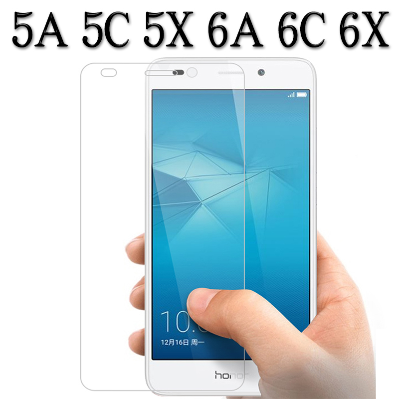 Protective Glass For Honor 5A 6C 6A 6X 5C 5X Screen Protector On The A5 A6 X5 X6 C5 C6 5 6 X C A Honor5A Honr Tempered Glas Film