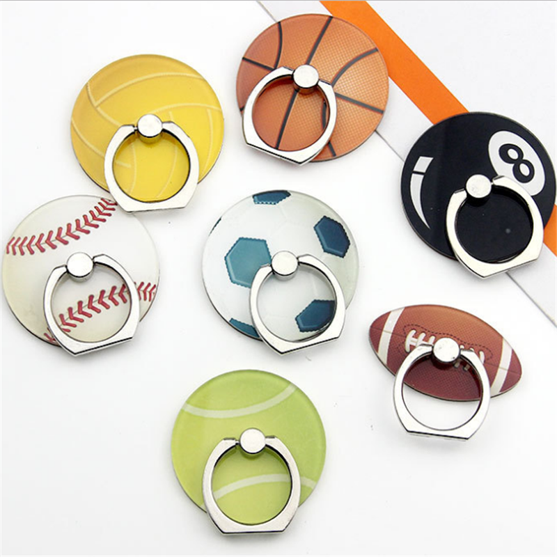 UVR Mobile Phone Stand Holder Ball Finger Ring Golf Baseball Football Smartphone Holder Stand For IPhone Xiaomi Huawei All Phone