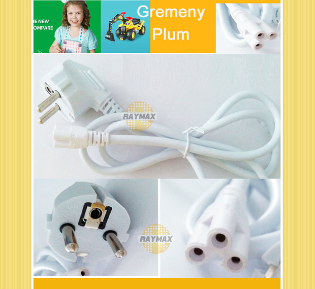 Online Shop 10PCS/LOT T5 TUBE WIRES 1.5M POWER LINK WITH GERMAN ...