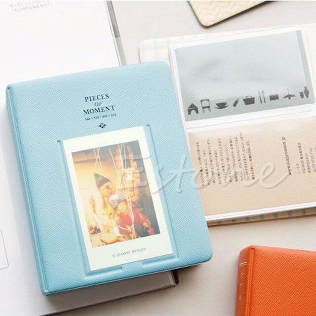 64 Zakken Mini Instant Polaroid Fotoalbum Foto Case Opslag Voor