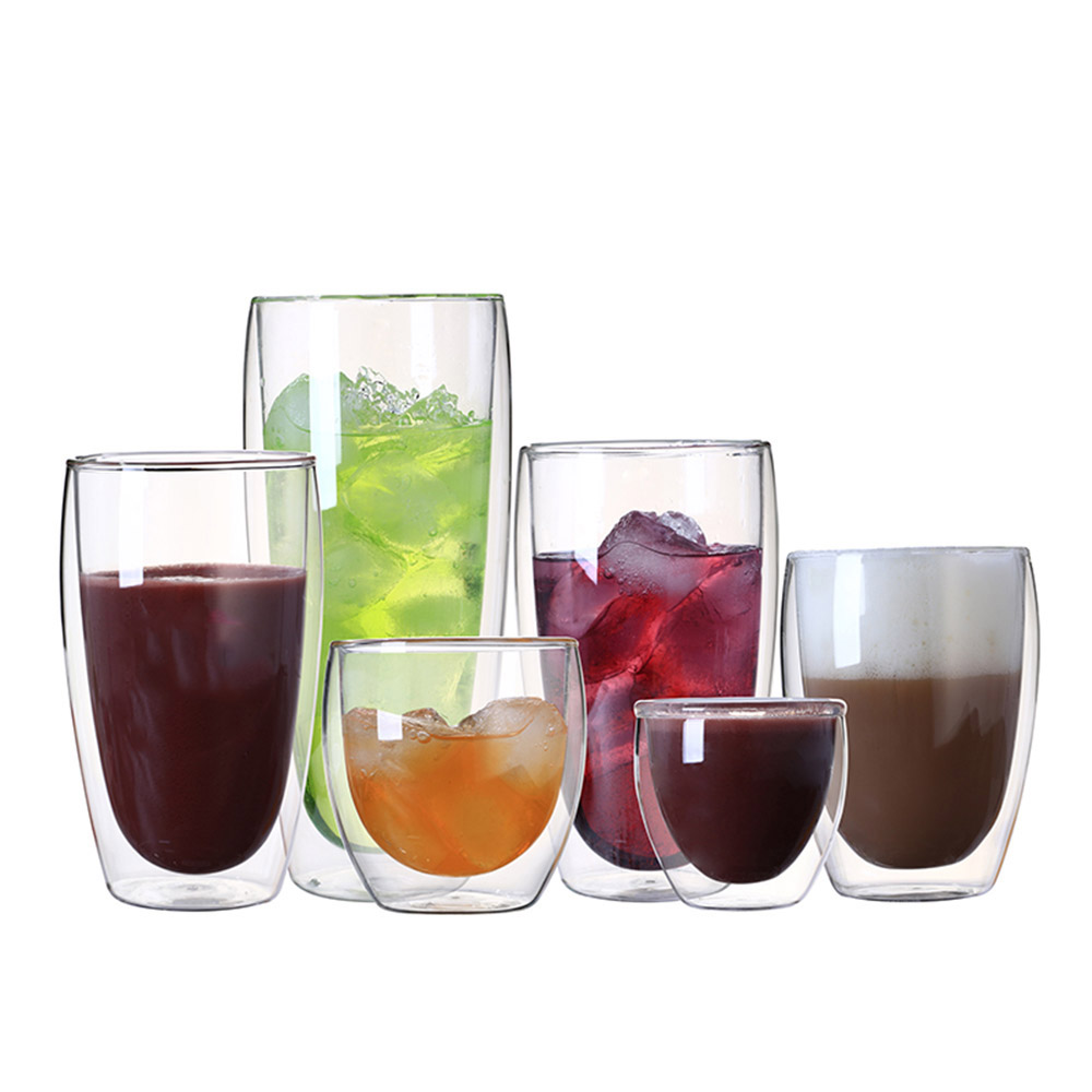 Cocktail-Glasses Juice-Mugs Beer Swig Coffee Creative Milk-Cafe-Cup Heat-Resistant Teacup