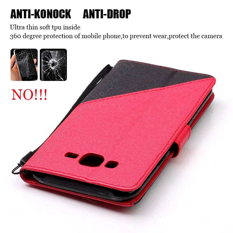 588d2dc210a Nephy costura caja de teléfono de cuero para Samsung Galaxy J7Neo J7 Neo  J701 SM-J701F J7 NXT J701M de moda colorido proteger bolsa