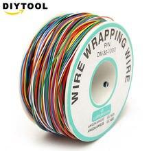 8 цветов p/n b 30 1000 30awg цветной упаковочный провод джампер
