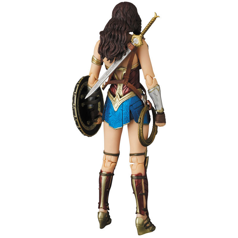 DC Justice League Super Hero MAFEX MAF Batman 056 Flash 058 Wonder Woman 048 Superman 057 Spiderman 047 Action Figure Toy Doll (37)