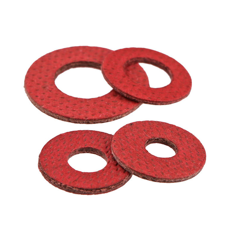 M3/M3.5 Insulation Washers / Gaskets, Fast Bus Red Meson, Red Steel Paper