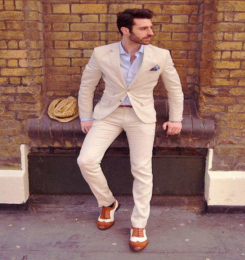 Online Get Cheap Men Beige Suit -Aliexpress.com | Alibaba Group
