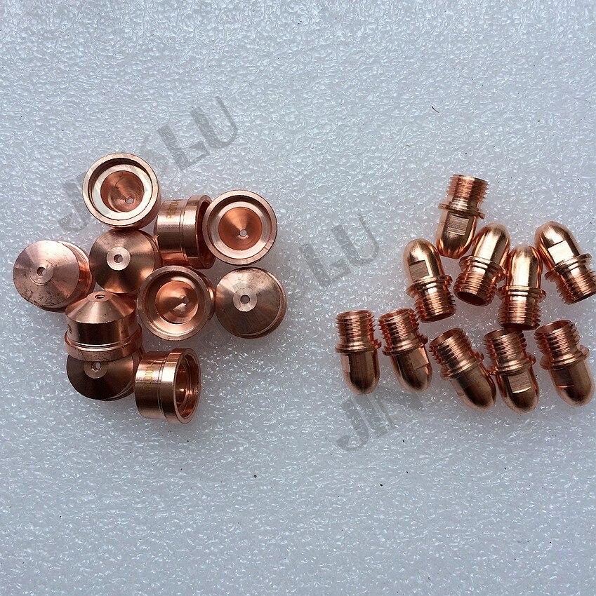 Electrode Consumables  1 10PCS  10PCS Type Parts A141 Plasma A101 PR0101 1 1 4 1 7   PD0101 Trafimet Amp Tip   1 Cutting Torch 9mm