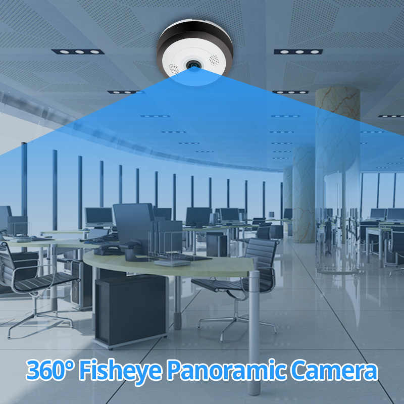 960P Wifi Camera 360 Degree Panoramic Camera Wifi Home Security Video Surveillance Night Vision Fisheye Surveillance Camera