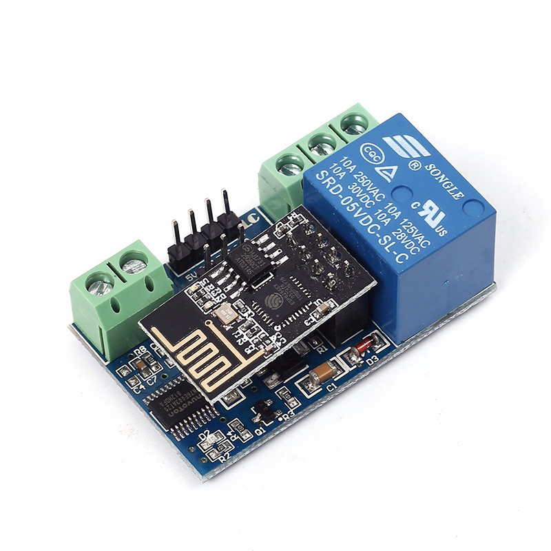 ESP8266-5V-Wifi-Relay-Module-Remote-Control-Switch-Phone-APP-For-Smart-Home-IOT-Transmission-Distance