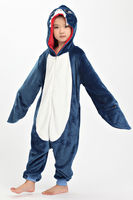 2016 TOP Children Kid Pajamas Unisex Cosplay Animal Costume Onesie Nightwear Penguin Unicorn Stitch Panda Dinosaur